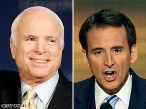 Minnesota Gov. Tim Pawlenty was among several Republicans on John McCain's vice presidential short list in 2008.