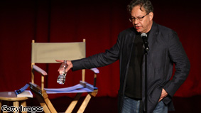 Comedian Lewis Black will appear on AC360° tonight.