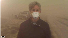 Gary Tuchman reports from an ash storm in Iceland