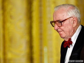 Justice Stevens received a birthday note Tuesday from President Obama.
