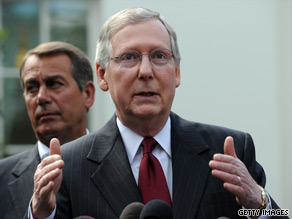 Senate Minority Leader Mitch McConnell said Tuesday that he is 'heartened to hear that bipartisan talks' on Wall Street reform 'have resumed in earnest.'
