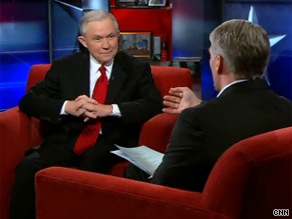Sen. Sessions shared his views on what makes for a good Supreme Court justice Wednesday on CNN.