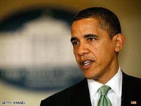President Obama backed Sen. Arlen Specter in Tuesday's primary.