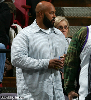 "Authorities in California said rap music mogul Marion ""Suge"" Knight was arrested early Thursday morning for allegedly pointing a gun at a man. His lawyer says Knight is innocent."