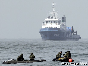 North Korea denied Thursday that it fired a torpedo that sank a South Korean warship in March. But S. Korea vowed to take ''resolute countermeasures'' nevertheless.