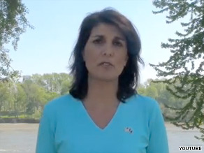 'We already got one raghead in the White House, we don't need a raghead in the governor's mansion,' a South Carolina Republican said Thursday referring to the president and Nikki Haley, pictured.