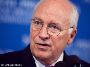 Dick Cheney has weighed in on another 2010 primary.