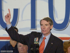 A new poll released Friday indicates that former Rep. Rob Portman trails Lt. Gov. Lee Fisher by one point.