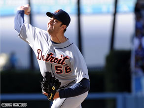 Detroit pitcher Armando Galarraga was robbed of a perfect game Wednesday night.