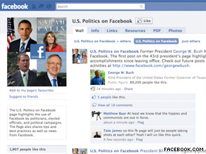 Facebook unveiled a new page highlighting how politicians and elected officials are using the site.