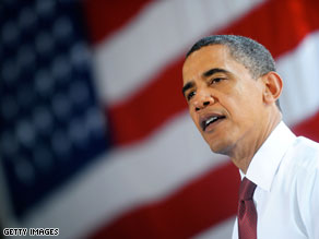 President Obama toured a truck dealership on Friday, where he touted May job numbers.