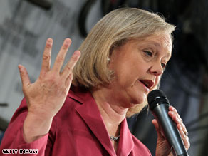 A new poll indicates Senate hopeful Meg Whitman has opened up a significant lead in the California GOP primary.