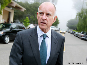 Jerry Brown is one of several governors who made a comeback in the 2010 primary elections.