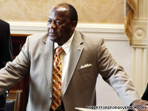 Democratic South Carolina state Sen. Robert Ford on Thursday said that white state party leaders are running the party 'like a plantation.'