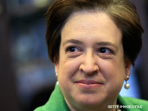 Senators are expected to continue floor debate Wednesday on the nomination of Elena Kagan to the Supreme Court.