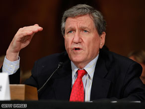 Richard Holbrooke saied Wednesday that Barack Obama's dismissal of the top commander in Afghanistan was 'extremely unfortunate' but 'necessary.'
