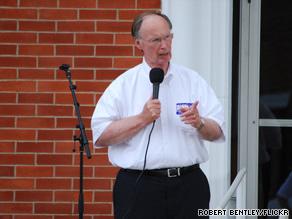 Robert Bentley won the GOP gubernatorial nomination in Alabama Tuesday night.