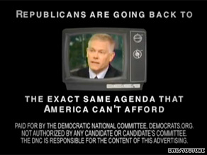 The Democratic National Committee is out Tuesday with a new web ad.