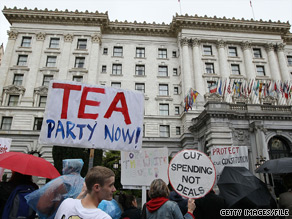 A political expert says that while an ugly split within the Tea Party might leave a bruise, it won't be fatal to the movement.