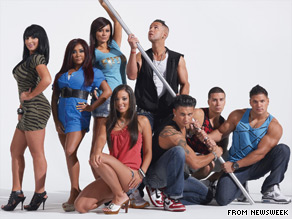The cast of 'The Jersey Shore' on Thursday scoffed at criticism leveled at them by New Jersey Gov. Chris Christie.