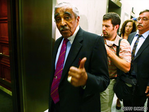 New York Rep. Charlie Rangel secured the Democratic Party's nomination on Tuesday night.
