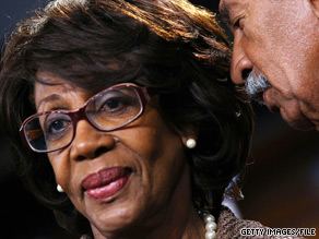 Rep. Maxine Waters was charged Monday with House ethics violations.