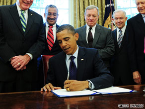 President Obama on Tuesday signed the Fair Sentencing Act.