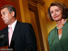 House Minority Leader John Boehner and House Speaker Nancy Pelosi have high expectations for their parties.
