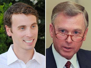 Ben Quayle, (left) son of former Vice President Dan Quayle, said Obama is the 'worst president in history.'