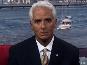 Florida Gov. Charlie Crist said he would return campaign contributions from 'people who had asked for it.'