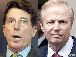 New Barclays CEO Bob Diamond (left) and BP counterpart Bob Dudley.