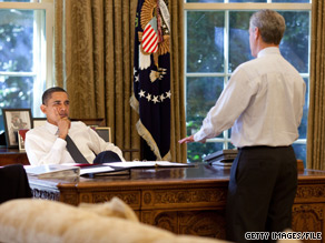 President Obama said in an interview broadcast Thursday that hias chief of staff, Rahm Emanuel, would 'be an excellent mayor' of Chicago.
