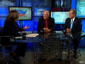 Dick Armey and Trent Lott spoke Sunday with CNN's Candy Crowley on State of the Union.