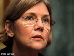 President Obama will announce on Friday that he is creating an advisory role for Elizabeth Warren.