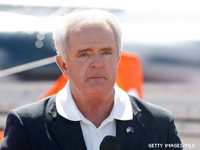Nevada Gov. Jim Gibbons was recuperating early Wednesday after he was thrown off a horse.
