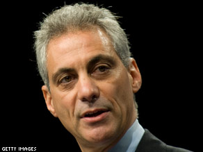 White House Chief of Staff Rahm Emanuel.