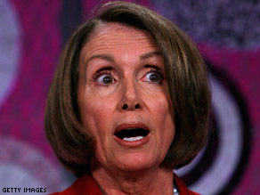 Speaker of the House Rep. Nancy Pelosi (D-CA).