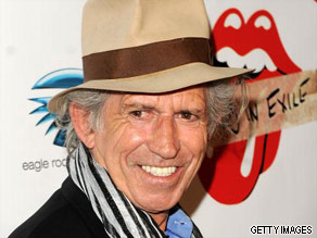 Keith Richards is your Connector of the Day.