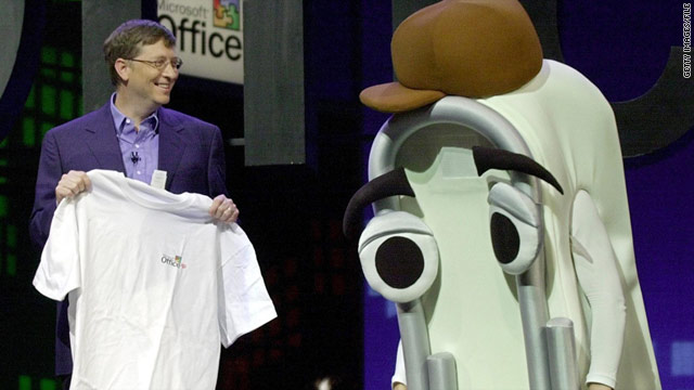 "Bill Gates retired ""Clippy"" as a default feature of Microsoft Office in 2001. The company is bringing the character back in a game."