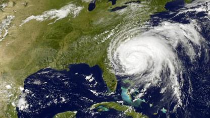 States brace for 'historic hurricane'