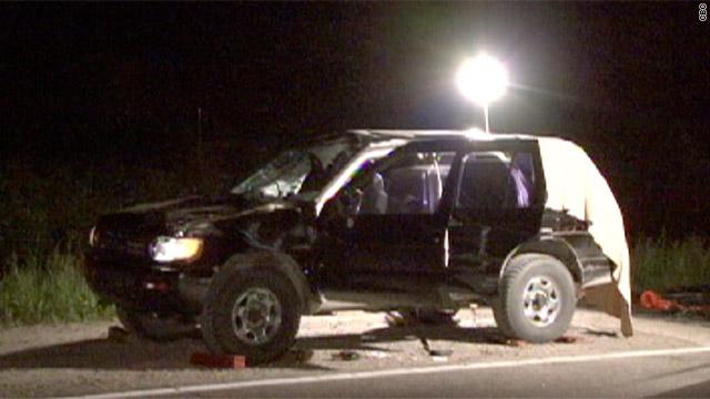 2 people die as bear flies through SUV