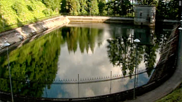 Portland draining reservoir after man urinates in it