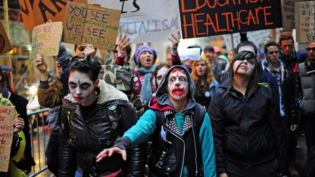 Who are the voices behind the protests, movement to #OccupyWallStreet?