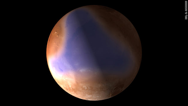 Mars may have had oceans