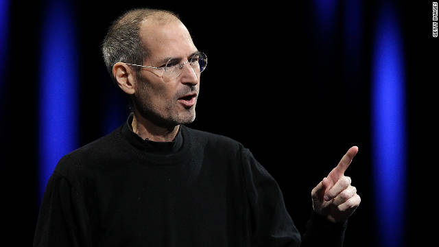 Steve Jobs, in his trademark black turtleneck, lived a life based on specific guidelines.