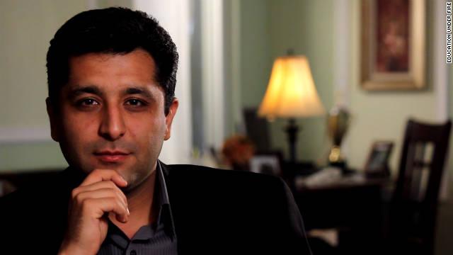 Keivan Mohammad Hassan, estudiante y maestro BIHE antiguo, cree que tendría arresto cara si hubiera permanecido en Irán