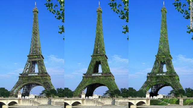 ¿Podría la Torre Eiffel convertirse en el árbol más grande del mundo?