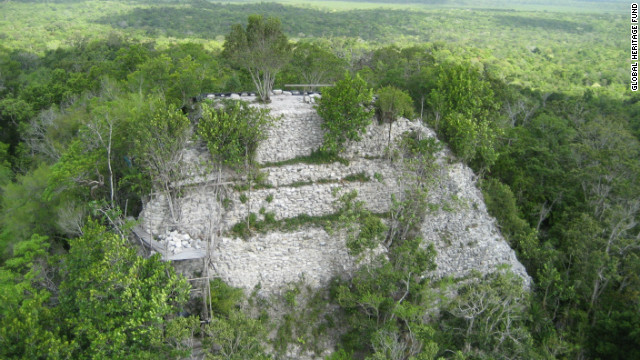 """The Global Heritage Fund has named 2012 """"The Year of the Maya,"""" -- the Maya calendar points to December 2012 as the dawn of a new age. La Danta pyramid, at El Mirador in Guatemala, is one of the sites which the Global Heritage Fund is fighting to protect."""