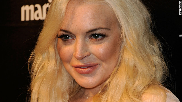 Lindsay Lohan made fun of her criminal record and rehab stints while hosting