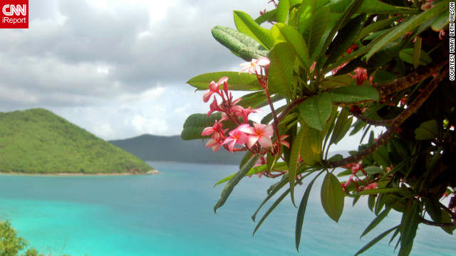 "<br/>The British and U.S. Virgin Islands offer crystal blue waters and beautifully serene escapes. iReporters shared their favorite photos of paradise with us. Mary Beth Wilson captured this gorgeous view of St. John, looking toward the British Virgin Islands. ""St. John is our island paradise."""